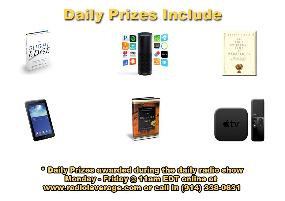 daily prizes slight edge